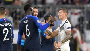 FT:जर्मनी 0-0 फ्रांस UEFA नेशंस लीग के ओपनिंग वीक में म्यूनिख के अलियांज अरेना में खेले गए अहममुकाबले में जर्मनी और वर्ल्ड चैंपियन फ्रांस ने 0-0 का गोलरहित...