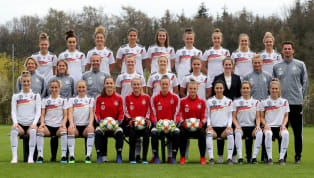 ance ​Germany have named their 23-player squad for the 2019 Women's World Cup in France, looking for their first global title since back-to-back wins in 2003...