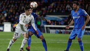 Jornada 34 La Liga antara Getafe kontra Real Madrid di Coliseum Alfonso Perez, Jumat (26/4) dini hari WIB, berakhir dengan skor kacamata. Kedua tim hanya...