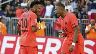 Mbappé,Neymar y Choupo-Moting pasaron el rato en una sala de juegos de París, donde el francés y el brasileño pusieron a prueba sus habilidades en...