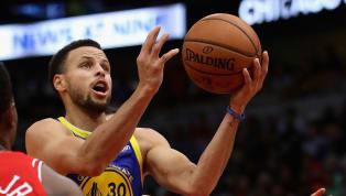 La estrella de los Golden State Warriors Stephen Curry y el base del Oklahoma City Thunder Russell Westbrook, encabezan la lista de los jugadores con el...