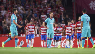 ders Barcelona's problems went from bad to worse at Nuevo Los Carmenes, as Granada ran out comfortable 2-0 winners to climb to the top of La Liga. ​ The hosts...