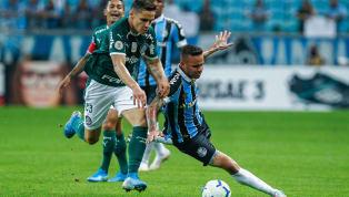 OGrêmioficou no empate em 1 a1 com o Palmeiras, na noite de sábado (17), na Arena, em Porto Alegre, em jogo válido pela 15ª rodada do Campeonato...