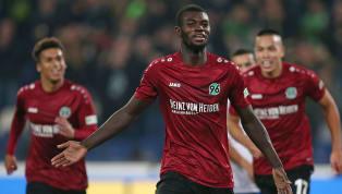 Nach zwei Spielzeiten muss Hannover 96 zum sechsten Mal in der Vereinsgeschichte den bitteren Gang in die Zweitklassigkeit antreten. Angreifer Ihlas Bebou...