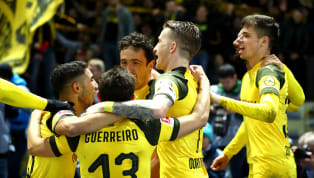 Top ​Marco Reus netted a stoppage-time winner as Borussia Dortmund returned to the top of the Bundesliga with a dramatic 3-2 win over Hertha BSC at the...