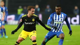 """Hertha BSCund Mario Götze. Eine mögliche Zusammenarbeit des BVB-Stars und des neureichen """"Big City""""-Klubs wurde in den vergangenen Monaten immer mal wieder..."""