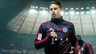 Noch immer ist offen, ob James Rodriguez demFC Bayernüber die Saison hinaus erhalten bleiben wird. Zwar besitzen die Münchner eine Kaufoption über 42...