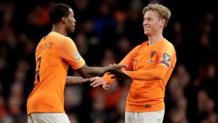 Nach den rassistischen Vorfällen in der zweiten niederländischen Liga setzte Georginio Wijnaldum beim 5:0-Sieg gegen Estland zusammen mit seinem...