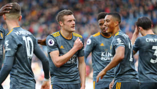 Win Brendan Rodgers made it four wins in a row as Leicester City boss as his side produced a brilliant attacking display to thrash Huddersfield 4-1. Leicester...