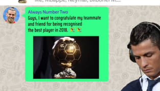 VIDEO: Reaction From the Ballon d'Or Whatsapp Group as Luka Modric Wins the Award