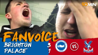 Brighton 3-1 Crystal Palace | First Half Seagulls Blitz Downs Disappointing Eagles| FanVoice