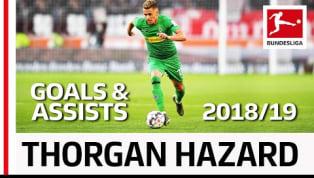 Als Vorgeschmack auf die neue Saison hat die Bundesliga ein Video mit allen Torbeteiligungen von Thorgan Hazard in der vergangenen Saison im Dress von...