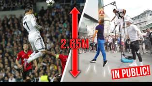 Cristiano Ronaldo gilt neben Lionel Messi als der beste Fußballer der Welt. Vor allem die Vielseitigkeit des Portugiesen beeindruckt - denn es scheint nichts...