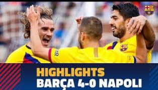 DemFC Barcelonagelang am Samstag im gigantischenMichigan Stadium ein 4:0-Sieg gegen den SSC Neapel. Vor dem Liga-Auftakt am kommenden Freitag gegen...