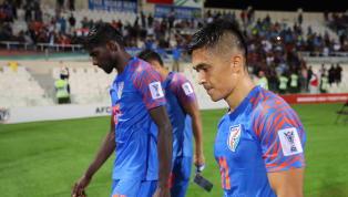 ings India put in their worst performance of the tournament to lose to Bahrain 1-0 and crash out of the Asian Cup. A late penalty converted by Jamal Rashed...