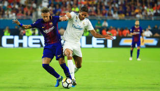 Real Madrid defender Raphael Varane has revealed that he and his team-mates were following the transfer rumours surrounding Neymar but had lost track of them...