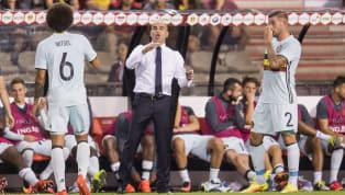 बेल्जियन मिडफील्डर एक्सेल विट्सेल को पता है कि क्यों उनकी नेशनल टीम के कोच रोबर्टो मार्टिनेज़ को स्पैनिश क्लब रियल मैड्रिड से लिंक किया जा रहा है। विट्सेल को...