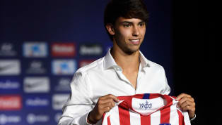 Joao Felix has taken up Antoine Griezmann's number seven jersey atAtletico Madrid.The19-year-old whosealed his €120m move to Atletico from Benfica has...
