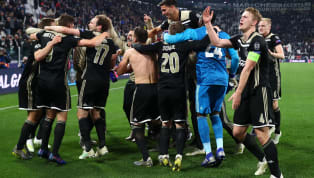 Matthijs de Ligt scored half way through the second half to help Ajax to a famous 2-1 win at Juventus in the second leg of their Champions League...