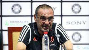 Das erste Mal in der Serie A-Saison wirdJuventus Turin-Coach Maurizio Sarri am kommenden Spieltag auf der Trainerbank sitzen. Wegen einer Lungenentzündung...