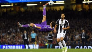 Cristiano Ronaldo's famous bicycle-kick for Real Madrid against Juventus in the Champions League quarter-final last season has been immortalised in Swarovski...