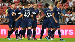 nner Tottenham saw off Juventus 3-2 after an entertaining game was decided in stoppage time as Harry Kane scored a stunninggoal from the halfway linein...