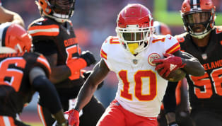 Tyreek Hill has been an electrifying offensive threat for the Kansas City Chiefs throughout his short career so far, being one of the fastest wideouts in the...
