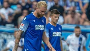 Mit dieser Elf startet der KSC im Pokal beim 1. FC Saarbrücken: Christian Eichner schickt diese Elf ins Achtelfinale gegen den @ersterfcs 👇 #FCSKSC...