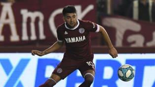 """Marcelino Moreno fue la gran figura de Lanús en el encuentro ante Vélez Sarsfield, en la victoria 3 a 1 del """"Granate"""" por la tercera fecha de laSuperliga..."""