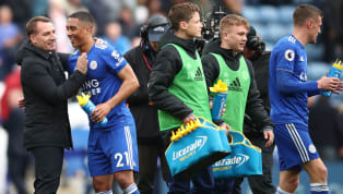 ​Brendan Rodgers has revealed his delight at the performances of his young players in Leicester City's dominant 3-0 victory over Arsenal on Sunday. Youri...