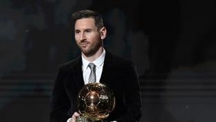 """Leo Messi dejó unas sorprendentes declaraciones cuando recibió su sexto Balón de Oro a France Football: """"Por un lado, me gustaba tener cinco y ser el único...."""