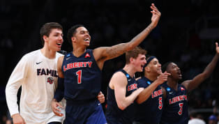 Caleb Homesley led all scorers with 30 points to helpthe 12th-seededLiberty Flames make a major statement in the first round of theNCAATournament in...