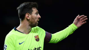 ​​Barcelona coach Ernesto Valverde firmly believes that Lionel Messi is on the verge of ending his wait for a goal in the Champions League quarter-final....