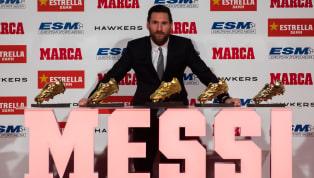 Ungkapan Hati Lionel Messi Usai Memecahkan Rekor Menangi Penghargaan Golden Shoe Kelima