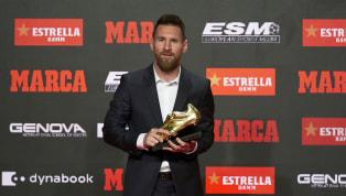İspanya La Liga ekiplerinden Barcelona'nın Arjantinli süperstarı Lionel Messi 6. kez Altın Ayakkabı ödülünün sahibi oldu. Geride bıraktığımız 2018-19...