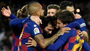 Win Lionel Messi's second-half strike ensured Quique Seitén marked his first game as Barcelona boss with a home win over Granada that moved them back to the...