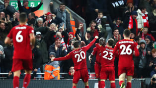 Liverpool mendapatkan kemenangan penting dengan skor 5-2 atas Everton di Anfield dalam pertandingan pekan ke-15 Premier League 2019/20 pada Kamis (5/12) dini...