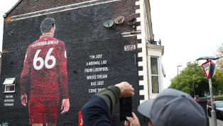 A large mural in tribute of Liverpool's flying right-back Trent Alexander-Arnold was defaced hours before Wednesday night's Merseyside derby against Everton....