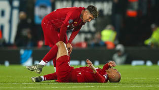 ​Liverpool are fearful midfielder Fabinho could miss up to six weeks of action after sustaining an ankle injury during the 1-1 Champions League draw with...