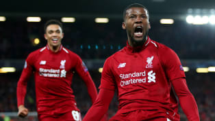 ​There was a moment, late in the game with the score at 4-0, as Liverpool ran on sweat and adrenalin, that summed up Gini Wijnaldum better than his two goals...