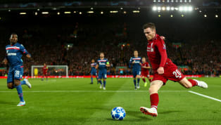 Liverpool defender Andy Robertson has stated that the club must make the most of playing at Anfield during the first leg of the Champions League last-16 clash...