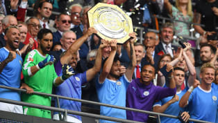 การแข่งขันฟุตบอล คอมมูนิตี้ ชิลด์ 2019 วันแข่งขันวันอาทิตย์ที่ 4 สิงหาคม 2019 ผลการแข่งขัน ลิเวอร์พูล 1-1 แมนเชสเตอร์ ซิตี้ ดวลลูกจุดโทษ 4-5 สนามเวมบลีย์...