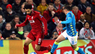 VIDEO: GOOOOL Liverpool! Salah Bawa The Reds Unggul vs Napoli!