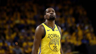 Surely, Kevin Durant, an undisputed top-two player in the NBA, was also amongst the league's best in terms of jersey sales in 2018-2019, right?Not exactly....