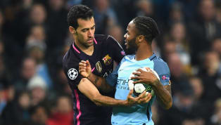uets Barcelonamidfielder, Sergio Busquets believes that comparisons betweenManchester Citystar, Raheem Sterling and club icon, Lionel Messi are...