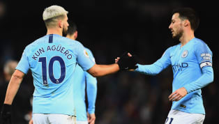 ​Manchester City duo Sergio Aguero and David Silva have been given permission to play in Vincent Kompany's testimonial during their title campaign by manager...