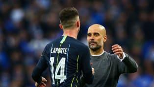 Cinq mois après une terrible blessure au genou, Aymeric Laporte a fait son grand retour en Premier League. Un retour qui a réjoui comme il se doit Pep...