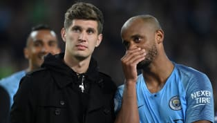 ​Manchester City captain Vincent Kompany has heaped high praise on team-mate John Stones, naming the 24-year-old as the best centre-back he has ever played...