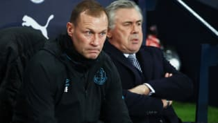 A group of Everton's senior players are said to have reacted defiantly to an angry dressing room address from assistant manager Duncan Fergusonafter the 1-0...