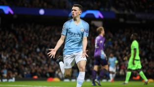 Teenager Phil Foden became Manchester City's youngest goalscorer in UEFA Champions League history as the defending Premier League champions put on a...